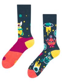 Vrolijke Sokken - Aliens - Mt. 35-38