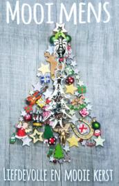 Liefdevolle en mooie kerst - kerstboompje