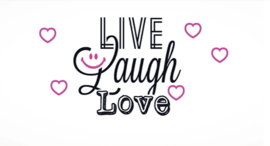 Candlecover - Live Laugh Love