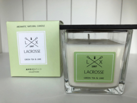 Scented Candle - Green tea & Lime - Lacrosse