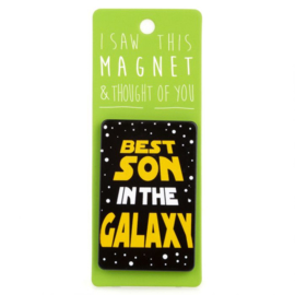 I saw this magnet and ... Best Son in the Galaxy