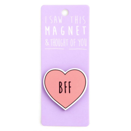 I saw this magnet and ... BFF