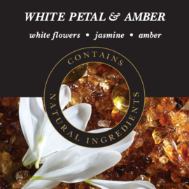 White Petal & Amber Geurlamp olie 250 ml