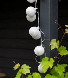 Outdoor cotton lights - Zilver  - Plata - Fairtrade