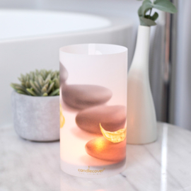 Candlecover - Hot stones
