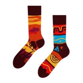 Vrolijke Sokken - Afrika - Mt. 35-38