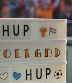 LEDR®  A3 - A4 - A5 -  Plaatjes en letters  Holland set – 60 stuks