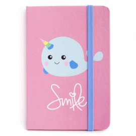 Notebook - Smile Narwhal