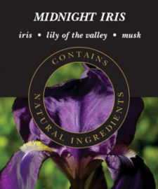 Midnight Iris Geurlamp olie 250 ml