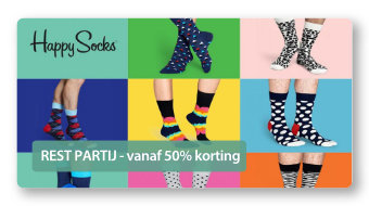 Happy Socks - Rest partij