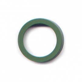 pierre junod mv 34 vignelli thick & thin ring groen