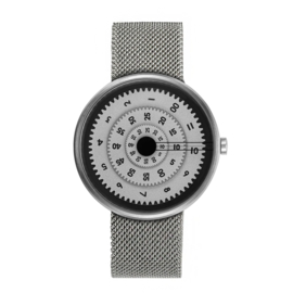 projects watches vault time machine horloge mesh