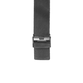 projects watches horlogeband  black rvs mesh