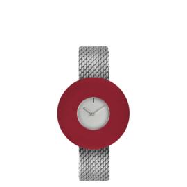pierre junod mv small vignelli baby horloge mesh