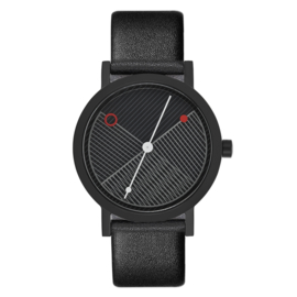 projects watches zwart hatch horloge