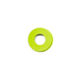 vignelli baby ring lime