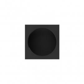 zwarte hoogglans kast easy going horloge
