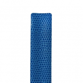 easy going band reptielprint blauw