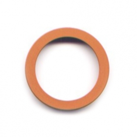 pierre junod mv 40 vignelli thick & thin large ring oranje