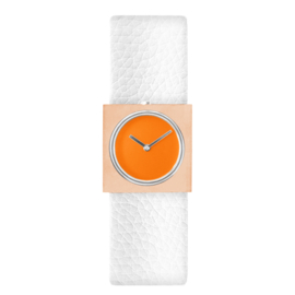 dsigntime easy going watch horloge oranje
