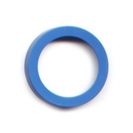 pierre junod mv 40 vignelli thick & thin large ring blauw