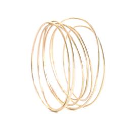 wikkelarmband goud