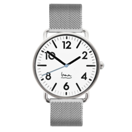 projects watches witherspoon horloge wit mesh