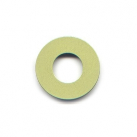 pierre junod mv dot vignelli halo ring lime