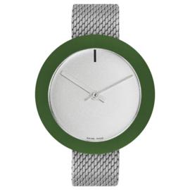 pierre junod mv44 vignelli mega horloge mesh