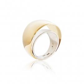 dubbele bol ring