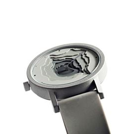 projects watches terra time horloge grijs