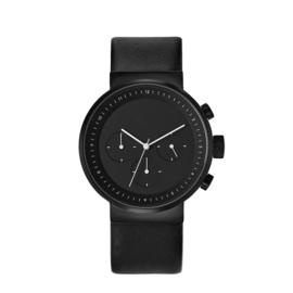 projects watches kiura horloge zwart