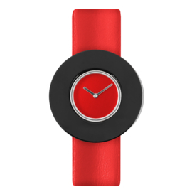 dsigntime easy going watch horloge rood