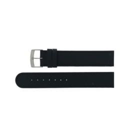 watch strap vignelli thick & thin black, large/mega