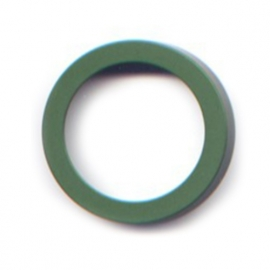 pierre junod mv 44 vignelli thick & thin mega ring groen