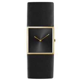 dsigntime/JLDC horloge goud & zwart