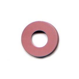 pierre junod mv dot vignelli halo ring roze