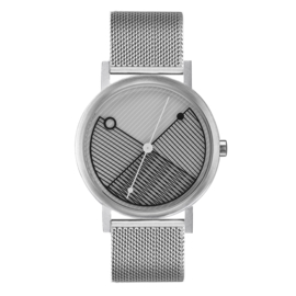 projects watches hatch horloge staal mesh