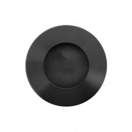 ronde zwarte gematteerde kast easy going
