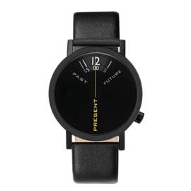 projects watches past, present & future horloge zwart