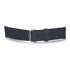 bruno ninaber horlogeband 1984 blauw met gesp