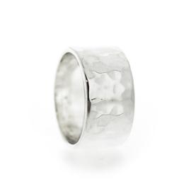 geciseleerde bandring zilver
