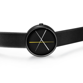 projects watches crossover horloge zwart