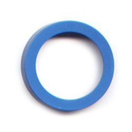 pierre junod mv 44 vignelli thick & thin mega ring blauw