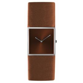 dsigntime/JLDC horloge bruin