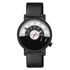 projects watches beyond the horizon horloge zwart