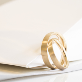 our modern classic wedding rings