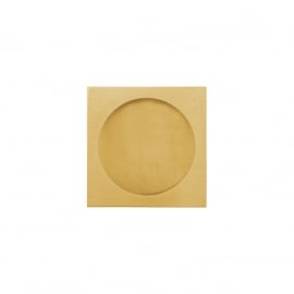 goudkleurige gematteerde kast easy going horloge