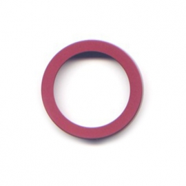 pierre junod mv 34 vignelli thick & thin ring burgundy
