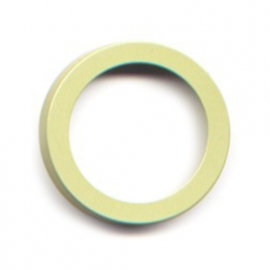 pierre junod mv 44 vignelli thick & thin mega ring lime
